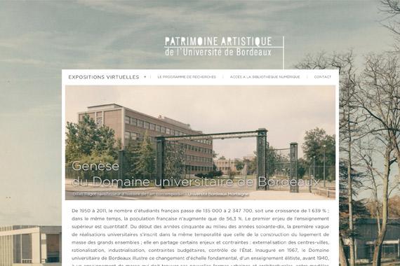 Patrimoine artistique de l'université de Bordeaux
