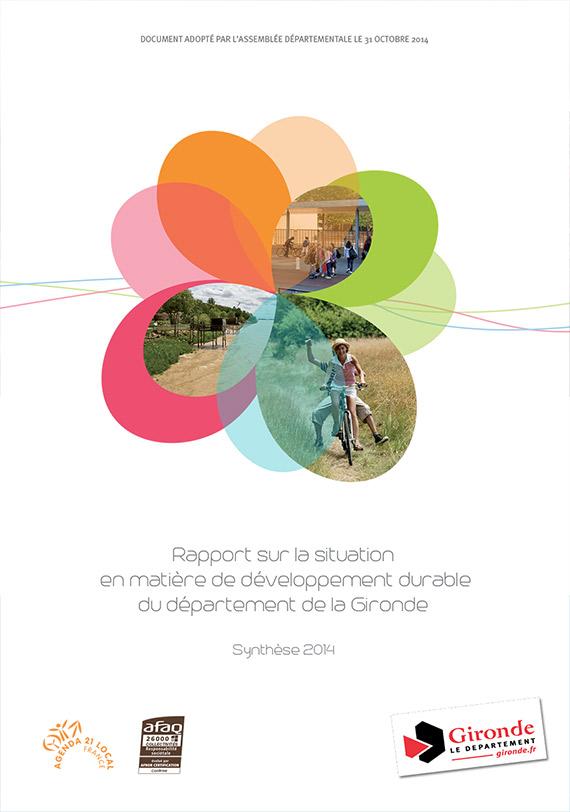Rapport Développement Durable de la Gironde 2014